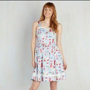 Modcloth Popsicle Dress Plus Size